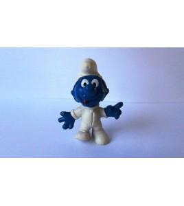 figurine vintage schtroumpf hk schleich 1965 peyo