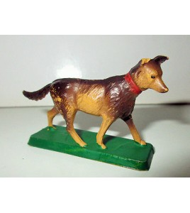 ANCIENNE FIGURINE STYLE STARLUX CLAIRET ANIMAUX N°3 (3,5x5cm)