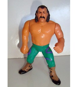 FIGURINE VINTAGE 90'S CATCH WWF HASBRO 1990 - JAKE THE SNAKE ROBERTS (11x7cm)