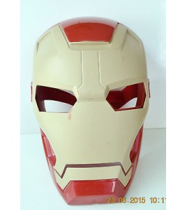 MASQUE MARVEL IRON MAN AVENGERS - HASBRO 2012 DEGUISEMENT (26x19cm)