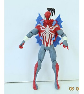 FIGURINE SPIDERMAN MARVEL 2012 MARVEL AVEC GRAPPIN SAC A DOS (11x6cm)