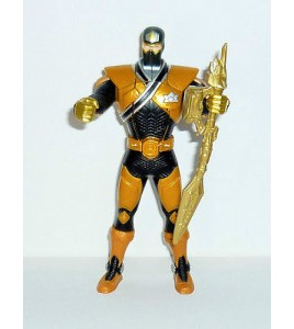 GRANDE FIGURINE POWER RANGER NOIR OR  BANDAI  (17x9cm)
