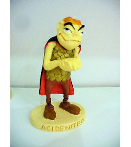 FIGURINE ACIDENITRIX   ASTERIX PLASTOY COLLECTION 2000 ALBERT RENE pictes (11x6c