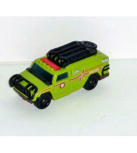 VOITURE TRANSFORMERS RATCHET FIRE DEPARTMENT AUTOBOT (7x3cm)