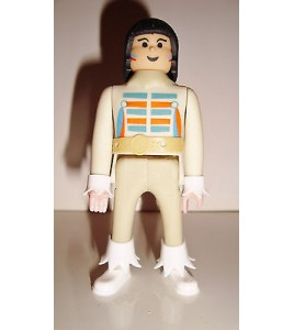 FIGURINE AIRGAM BOYS - INDIEN N°3 INDIAN(10x4,5cm)