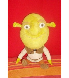 PELUCHE DOUDOU PLUSH SHREK - DREAMWORKS BIG HEADZ (24x17cm)