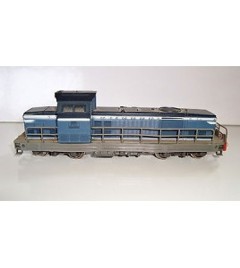 LOCOMOTIVE DIESEL BB66150  BLEU JOUEF 8531 MADE IN FRANCE SNCF (17x4cm)