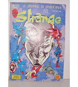 MARVEL LUG COMICS STRANGE N°218 MENSUEL 1988