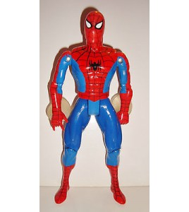 GRANDE FIGURINE MARVEL SPIDERMAN AVEC VENTOUSES TOY BIZ 1994 (17x11cm)