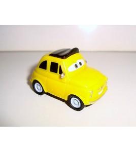 VEHICULE CARS DISNEY PIXAR - LUIGI PLASTIQUE NON ROULANT (4x2cm)