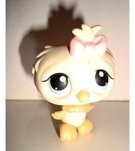 FIGURINE PET SHOP LITTLEST PET SHOP - HIBOUX CHOUETTE OWL GIRL