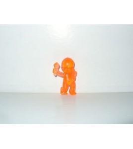 FIGURINE VINTAGE 80'S LES BABIES ORANGE TRANSLUCIDE N° 223 (5x3,5cm)