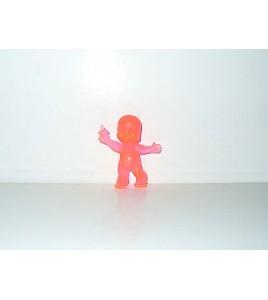 FIGURINE VINTAGE 80'S LES BABIES ROSE TRANSLUCIDE N° 217 (5x4cm)