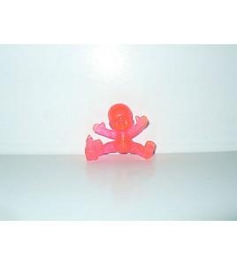 FIGURINE VINTAGE 80'S LES BABIES ROSE TRANSLUCIDE N° 209 (4x5cm)