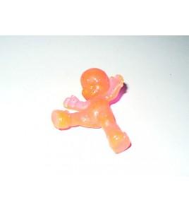 FIGURINE VINTAGE 80'S LES BABIES ROSE TRANSLUCIDE N° 228 (6x5cm)