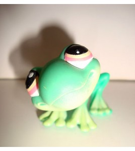 FIGURINE PET SHOP LITTLEST PET SHOP - GRENOUILLE VERTE