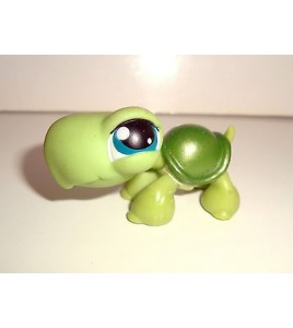 FIGURINE PET SHOP LITTLEST PET SHOP - TORTUE VERTE GREEN TURTLE