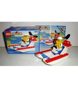 BOITE LEGO SYSTEM N°6513 COMPLETE THEME NAUTIQUE