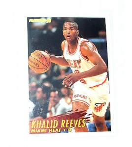CARTE  NBA BASKET BALL 1995  PLAYER CARDS KHALID REEVES (123)