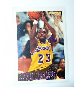 CARTE  NBA BASKET BALL 1995  PLAYER CARDS CEDRIC CEBALLOS (111)