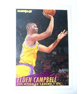 CARTE  NBA BASKET BALL 1995  PLAYER CARDS ELDEN CAMPBELL (110)