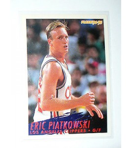 CARTE  NBA BASKET BALL 1995  PLAYER CARDS ERIC PIATKOWSKI (105)