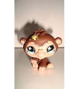FIGURINE PET SHOP LITTLEST PET SHOP -  BEBE GORILLE  GORILLAZ