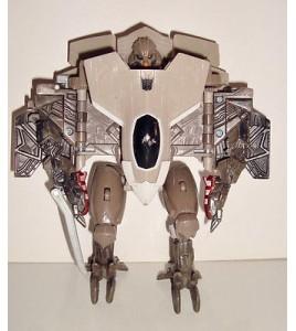 FIGURINE TRANSFORMERS DECEPTICON ROBOT AVION DE CHASSE (15x14cm)