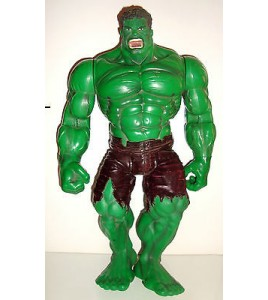 GRANDE FIGURINE ARTICULEE MARVEL COMICS AVENGERS THE HULK MOVIE 2002 (35x22cm)