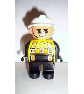 FIGURINE LEGO DUPLO - POMPIER N°2 (6x4,5cm)