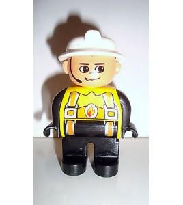 FIGURINE LEGO DUPLO - POMPIER N°1 (6x4,5cm)