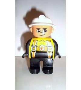 FIGURINE LEGO DUPLO - POMPIER N°3 (6x4,5cm)