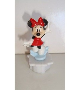 FIGURINE WALT DISNEY - MINNIE ROTATIVE (5x3cm)