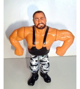 FIGURINE VINTAGE 90'S CATCH WWF HASBRO 1991 - THE BUSHWHACKERS LUKE (11x9cm)