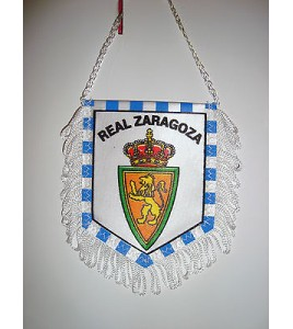 WIMPEL Pennant Fanion football - REAL ZARAGOZA