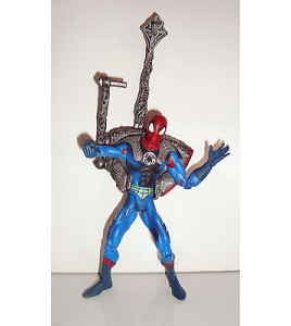 FIGURINE MARVEL SPIDERMAN ARTICULE TOY BIZ 2002  (23x13cm)