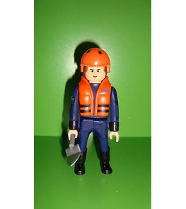 FIGURINE AIRGAM BOYS airgamboys - SECOURISTE N°3 (10x4cm)