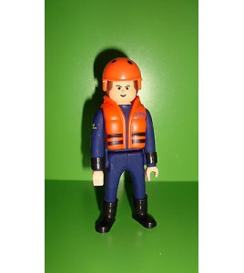 FIGURINE AIRGAM BOYS airgamboys - SECOURISTE N°1  (10x4cm)