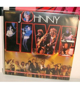 DISQUE VYNILES VINYL 33T - JOHNNY ENREGISTREMENT PUBLIC 1981