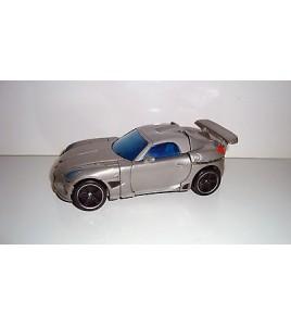 FIGURINE TRANSFORMERS AUTOBOT DECEPTICON CAR GRISE (13x6cm)