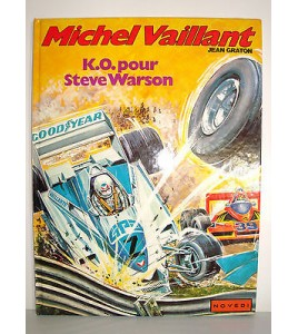 BD MICHEL VAILLANT JEAN GRATON  1984 - K.O. POUR STEVE WARSON