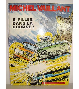 BD MICHEL VAILLANT JEAN GRATON  1983 - 5 FILLES DANS LA COURSE!