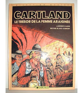 BD CARTLAND - LE TRESOR DE LA FEMME ARAIGNEE 1985