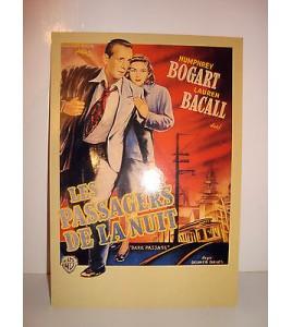 CARTE POSTALE CINEMA - LES PASSAGERS DE LA NUIT BOGART BACALL