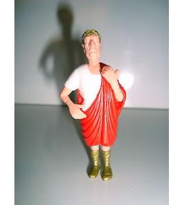 ANCIEN JOUET KINDER N°300 ASTERIX & OBELIX JULES CESAR ROMAIN MONTABLE