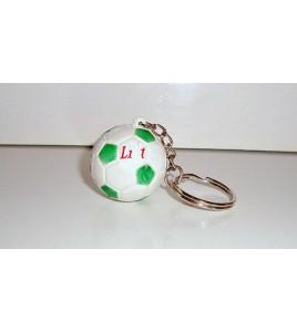 PORTE CLE KEYCHAIN BALLON DE FOOTBALL SOCCER (3cm)