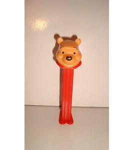 FIGURINE PEZ DISPENSER CANDY DISNEY WINNIE L'OURSON U.S. PATENT 4.966.305 (11cm)