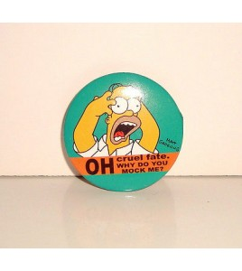 BADGE PIN BUTTON - LES SIMPSON N°1