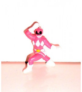 MINI FIGURINE POWER RANGER SENTEI FORCE ROSE (3,5x3cm)
