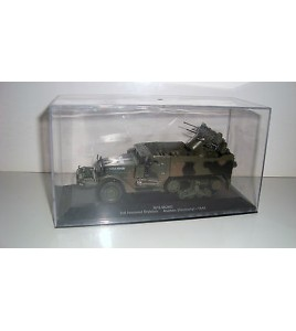 VEHICULE MILITAIRE - M16 MGMC 3RD ARMORED DIVISION AACHEN GERMANY 1944 (14x5cm)